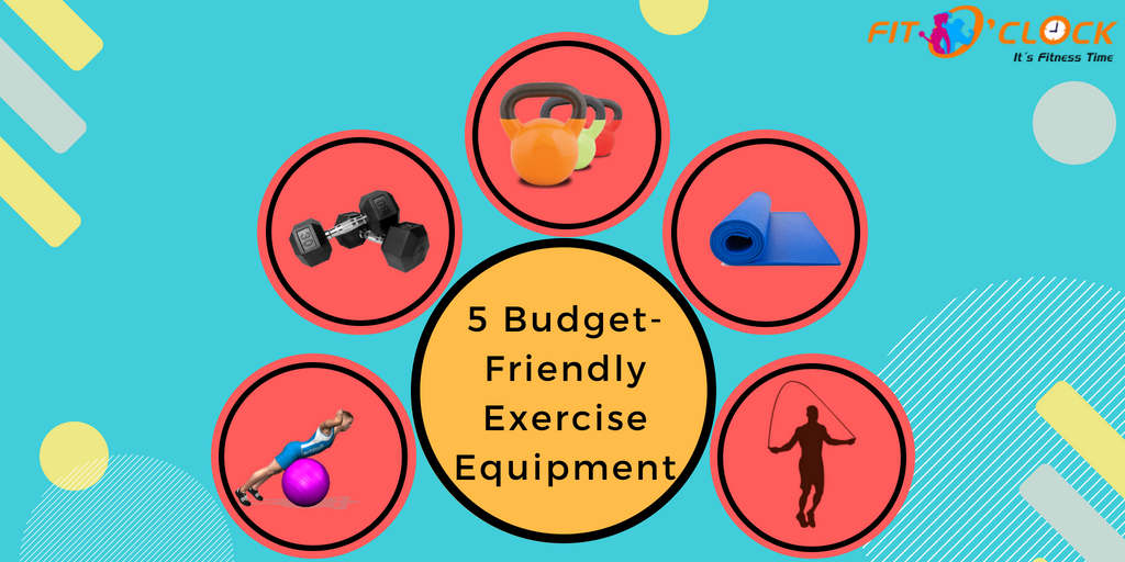 5 Budget-Friendly Exercise Equipment for Your Home Gym
