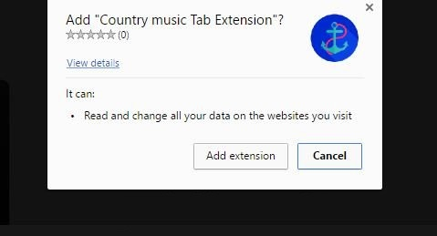MusicTab Browser Virus