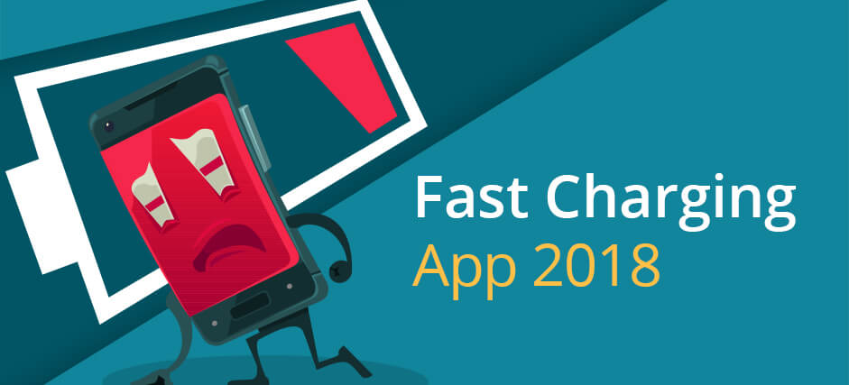 Fast Charging App 2018 | Battery Saver – Falcon Mobi Cleaner