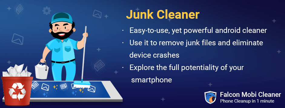 How can I clean junk Files from my Android phone?