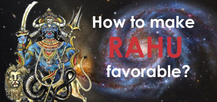 rahu favourable