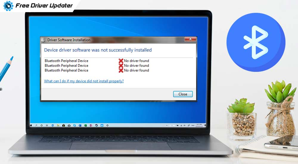 "How To Fix ""Bluetooth Peripheral Device Driver Not Found"" Error [Solved]"