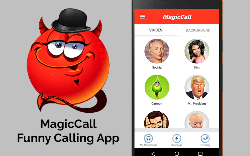 MagicCall - Funny Calling App