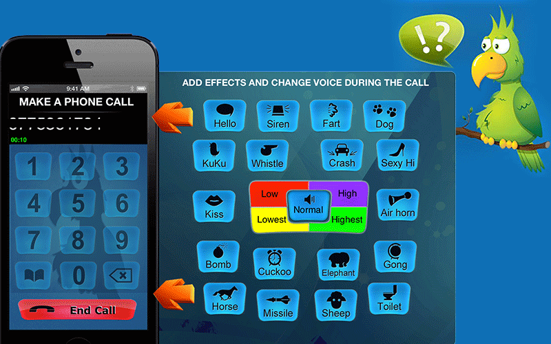 Call Voice Changer – IntCall