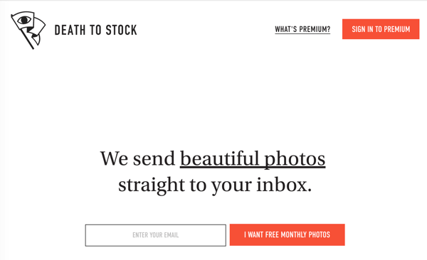 Stock Picture Website - Death To Stock