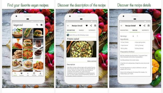 Veganized - Best Meal Planner App