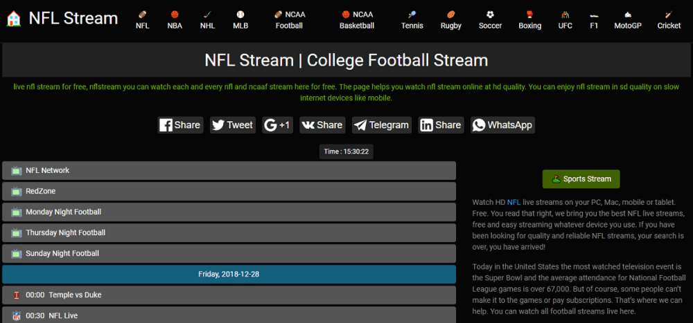 Nfl Stream - Best Sports Streaming Sites