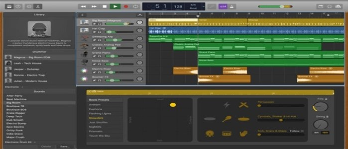 Garageband - Use To Create Music Beats and Sounds