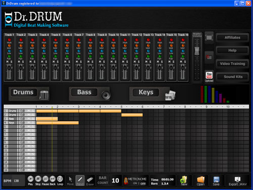Dr. Drum Digital Beat Making Software