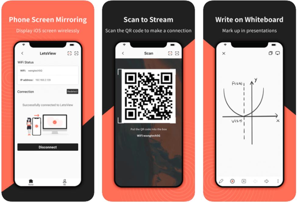 Best Screen Mirroring Apps - LetsView