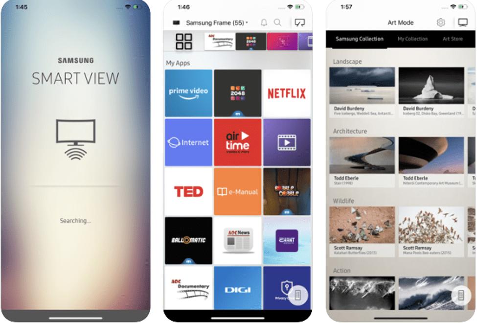 Best Screen Mirroring Apps - Samsung Smart View
