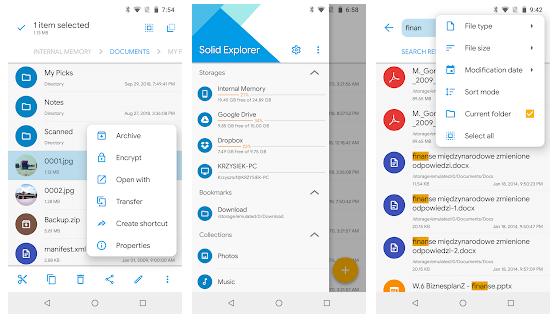 Solid Explorer File Manager App