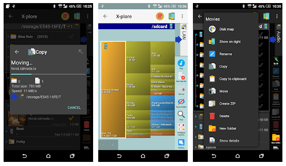 X-plore File Manager - Best Android File Manager App