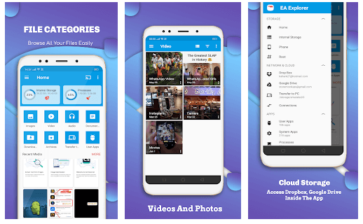 File Explorer EX App For Android File Manager