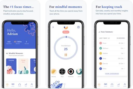 Flipd - iOS Usage Tracker App