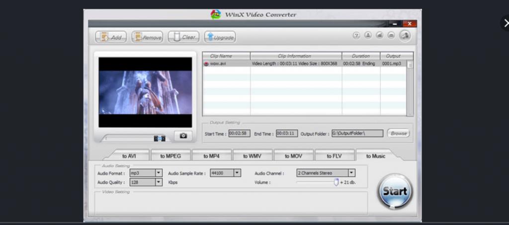 WinX Video Converter Software For Windows