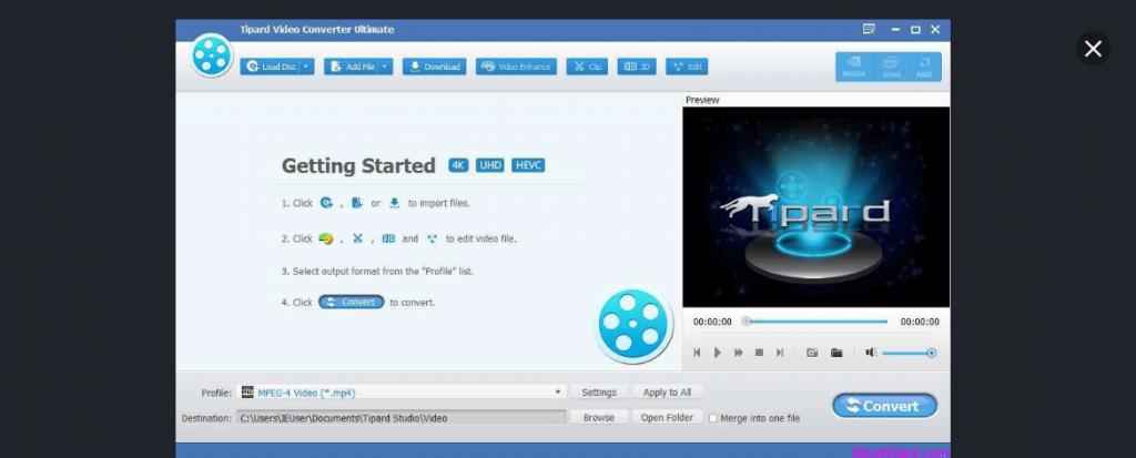 Tipard - Best Video Converter Software