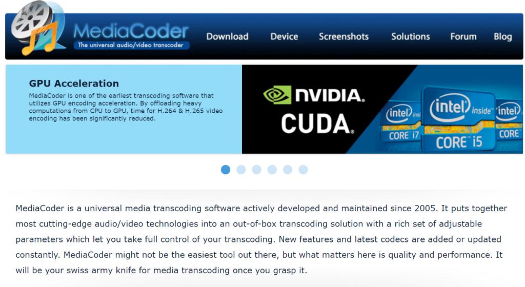 Media Coder - Best Video Converter For Windows