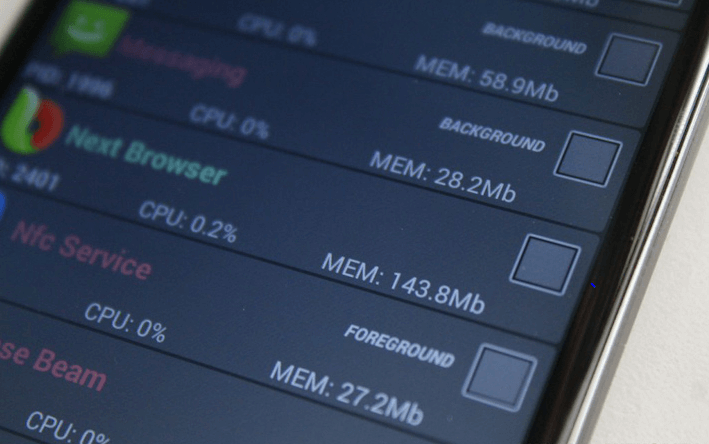 Clear App Cache or Data Storage to Make Android Run Faster