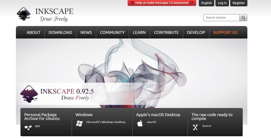 Inkscape - Windows PDF Editing Software
