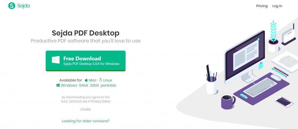 Sejda PDF Editor - PDF Editing Software For Windows