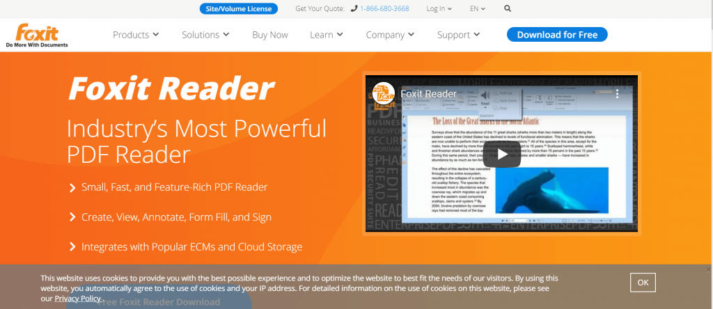 Foxit Software - Best PDF Editor For Windows