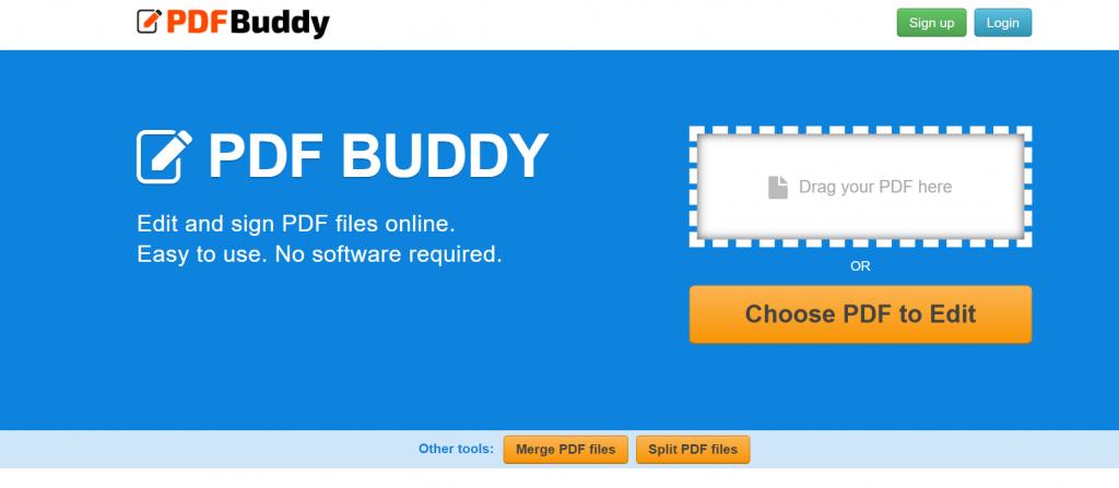 PDF Buddy - Best Free PDF Editor For Windows