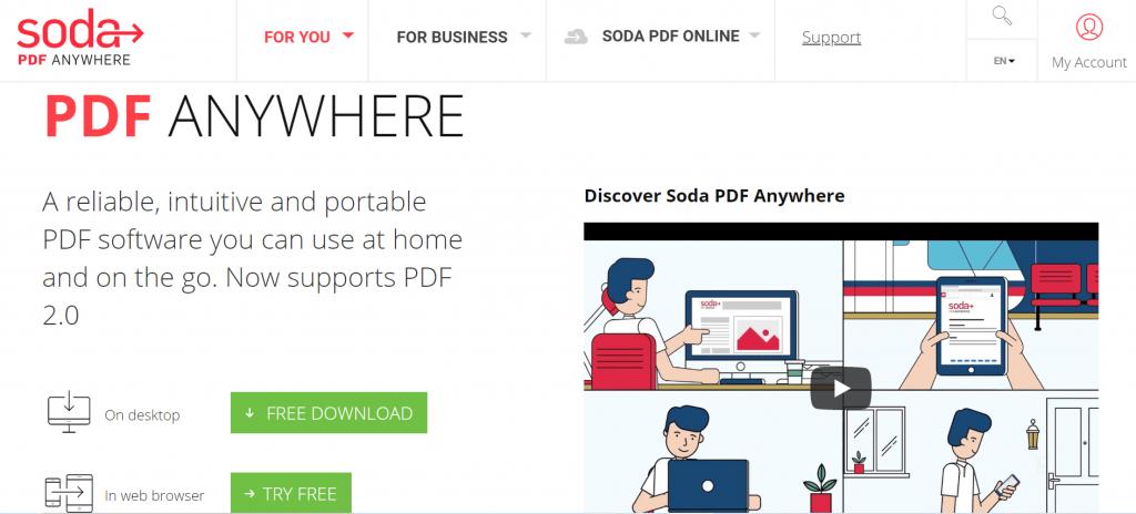 Soda PDF - PDF Editing Software For Windows