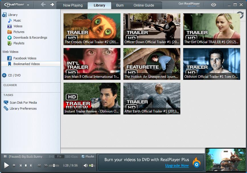 RealPlayer - Best Free Media Player Application