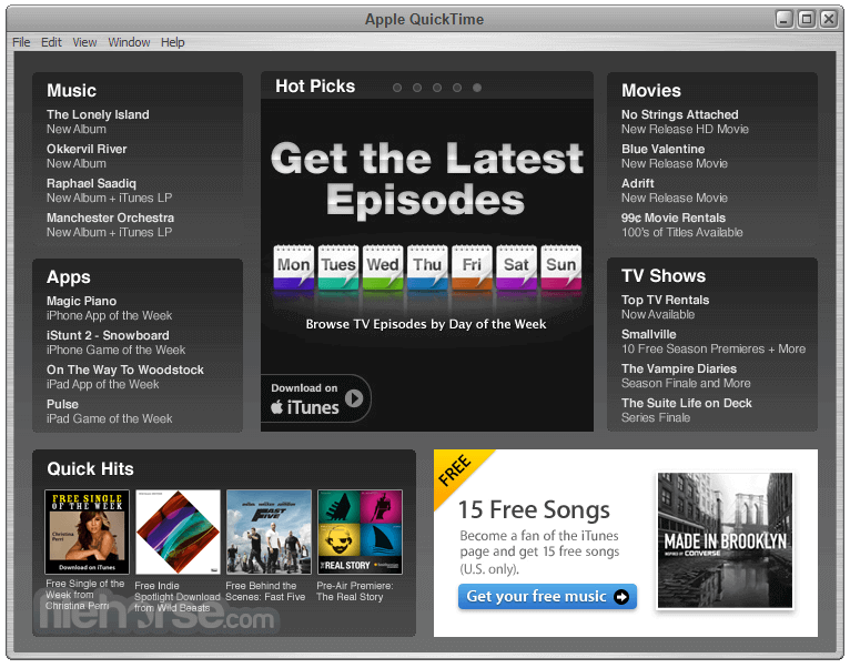 QuickTime App For Video Player