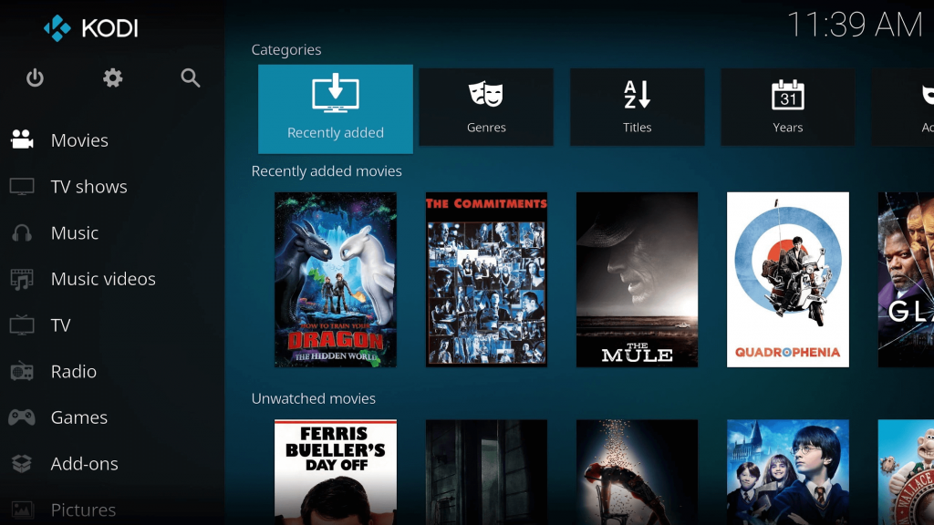Kodi - Best App For Playing Videos on MacOS
