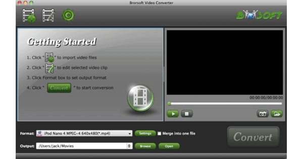 Brorsoft Video Player For Mac