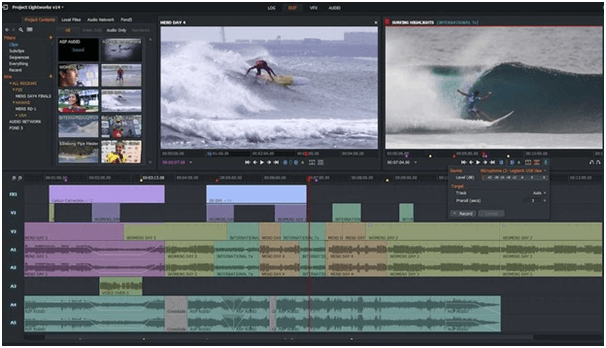 Lightworks - Best Free GoPro Editing Software for Windows