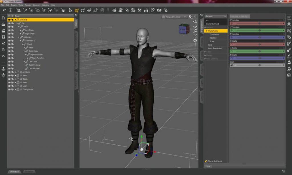 Daz Studio - 3D CAD Software