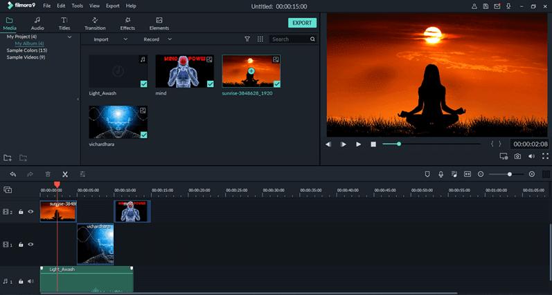 Wondershare Filmora9 - Photo Slideshow Software For Windows