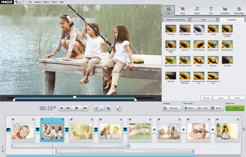 MAGIX Photostory Easy - Best Professional Slideshow Software