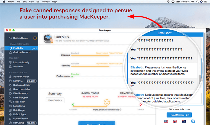 How MacKeeper works