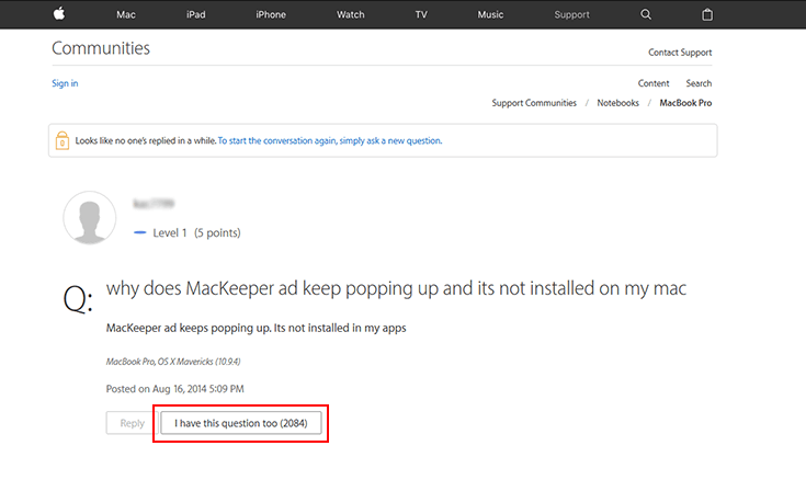 mackeeper fake pop up