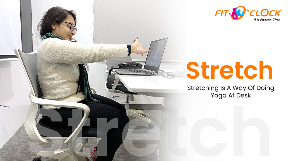 stretching for office workers