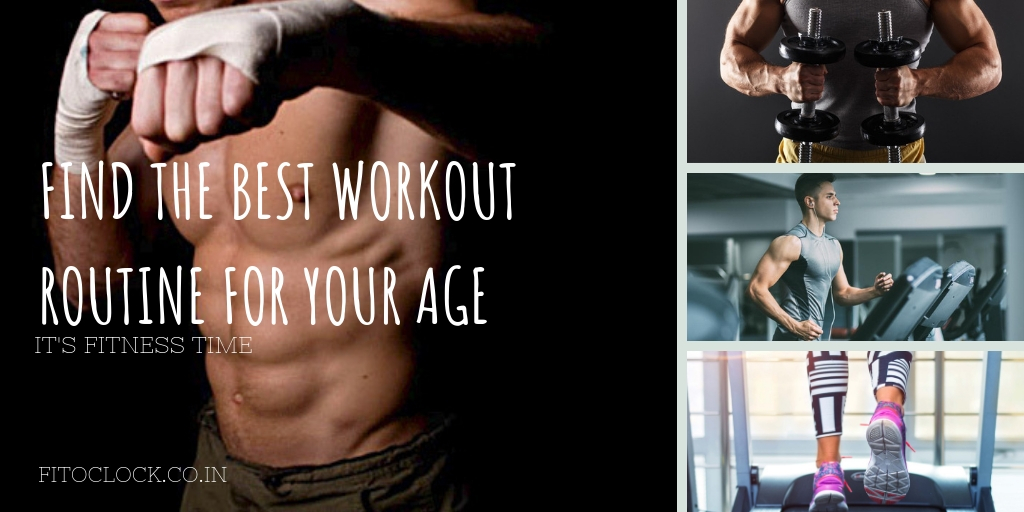 Find the best workout routine for your age