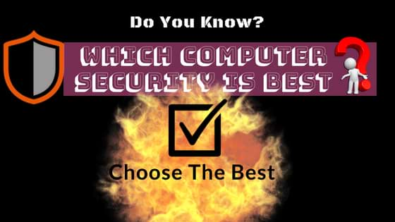 which computer security is best