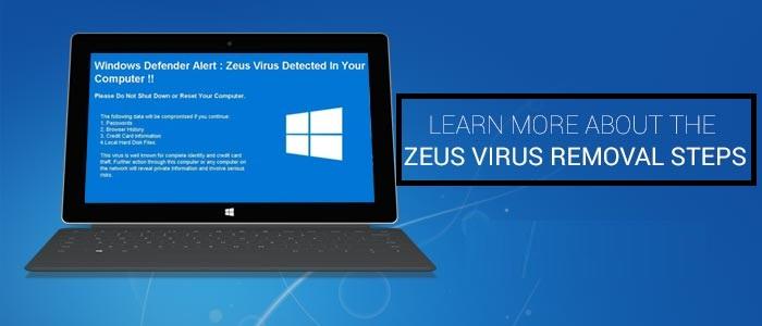 Zeus Virus Scam