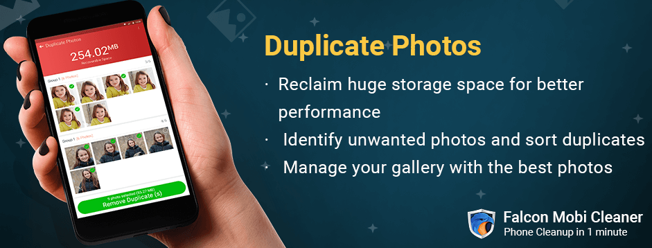 Duplicate Photo Cleaner App