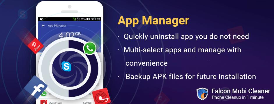 Falcon App Manager App