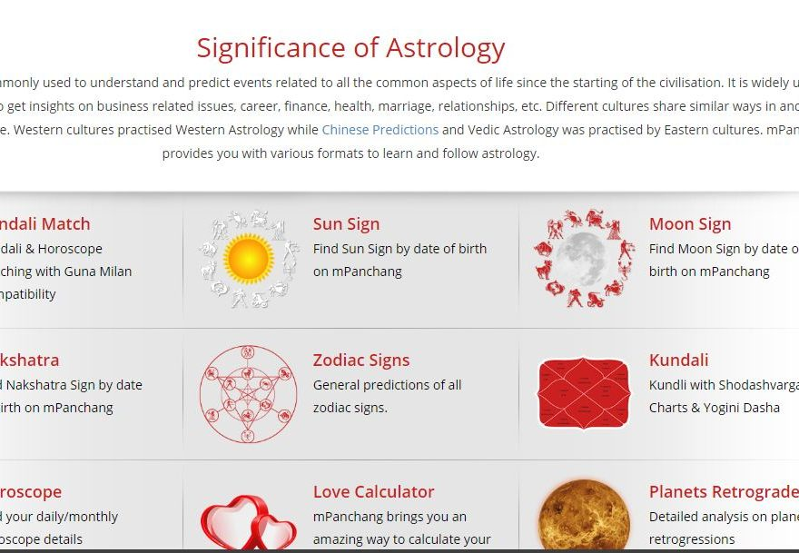 Vedic Astrology 2018 – How to Learn Indian Vedic Astrology | mPanchang