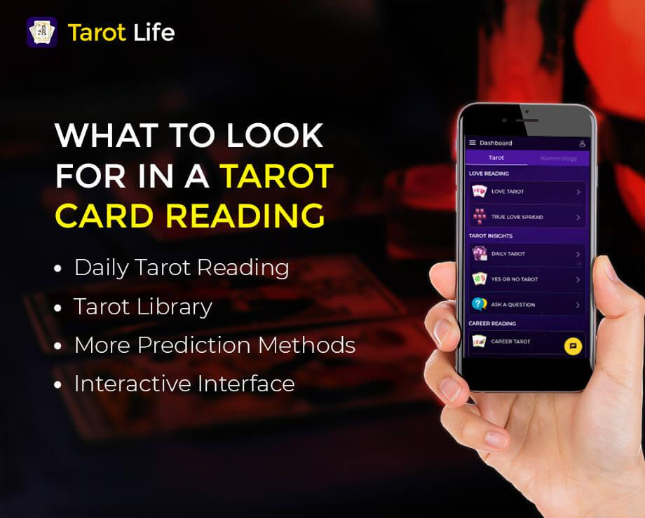 Features of Tarot Card Reading App