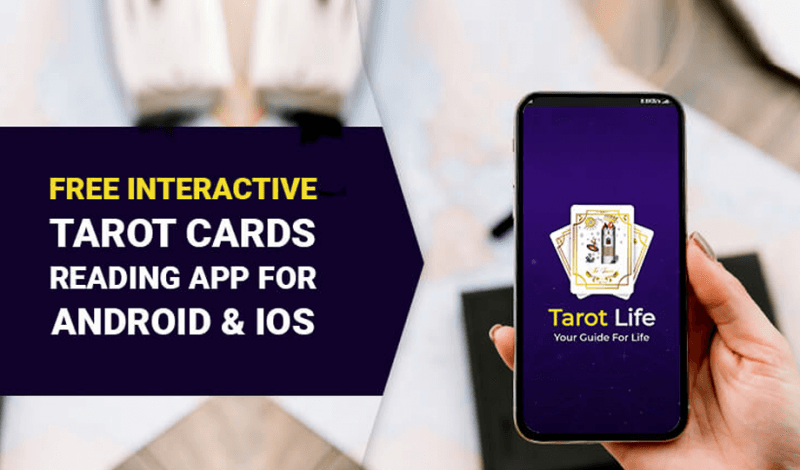 Free Interactive Tarot Cards Reading App for Android & iOS