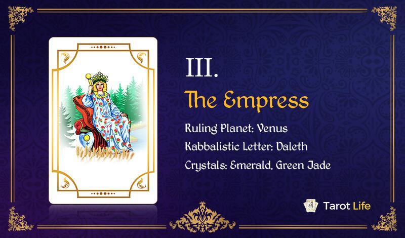 The Empress Love Tarot Card