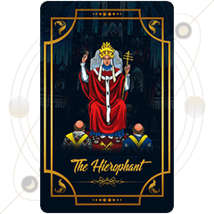 The Hierophant Tarot Card