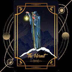 The Hermit Tarot
